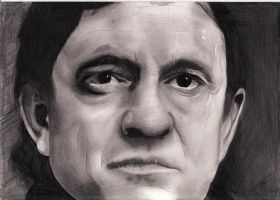 Johnny Cash by Jon-Wyatt