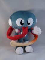 Chameleon Twist - Davy Plush by makeshiftwings30
