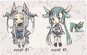 ESPALI ADOPT AUCTION [closed!] by chamoe