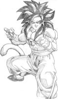 'Goku SS4'   [scansione 0014] by Pierr94