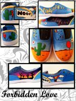 Forbidden Love Shoes by jkthedragon