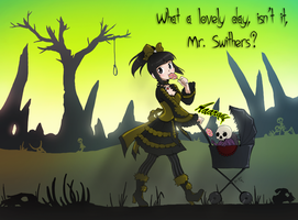 Ophelia and Mr. Swithers by Qvi
