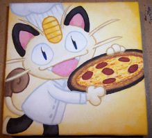 Chef Meowth by Zenity
