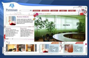 permisan web design by feartox