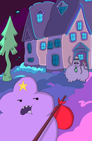 LSP becomes a hobo by MissTickles