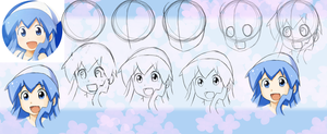 Squid Girl Step by Step by MeowYin
