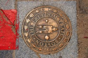 Freedom Trail Marker by dpierce1313