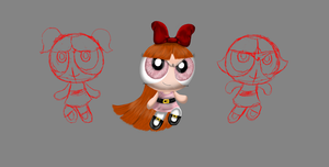 PPG (WIP) (blossom complete) by cyngawolf