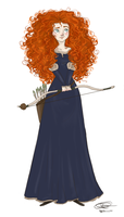 Merida:BRAVE by dancinghamtoro