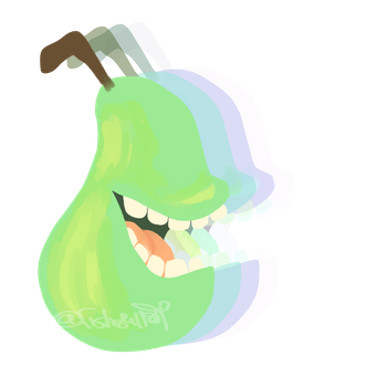 The pear that bites by fishskillet