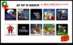 My Top 10 Favorite Christmas Specials/Films by ARTIST-SRF