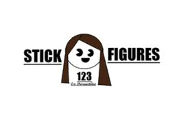 logo for stickfigures123 (a request) by sackofsquan
