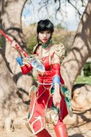 Warring Kingdoms Nidalee cosplay by Elifissa