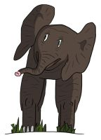 Day 41 Elephant by Asmodeus317