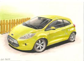 Ford KA by DominikScherrer