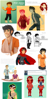 Tumblr Dump, July/August by 1000th