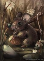 Autum mouse by mousez