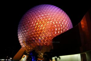 Epcot center by EyeInFocus
