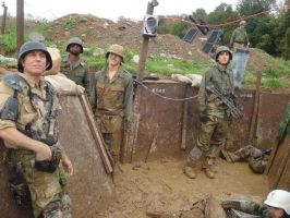 Our Muddy Trenches by thefxfox