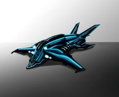 Spaceship by jschiu