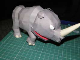 Rambi, the Rhino Papercraft by bslirabsl