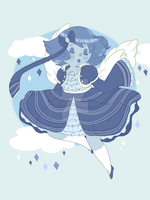 Gem Adoptable Auction: Blue Lace Agate by Ask-MusicPrincess3rd