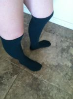 Long Socks :D by CowQueenofAmerica