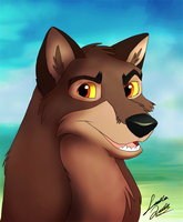 Balto by TheMysticWolf