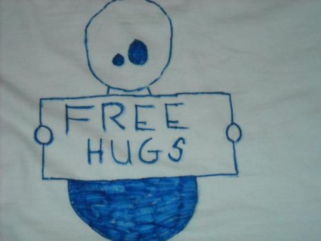 On the back of my t shirt.... by Hyacinth-Child