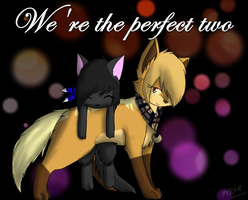 We're the perfect two by pvpsi