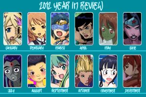 2012 Year in Review by Glee-chan