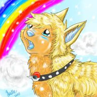 gold at the end of the rainbow by FrostWarden