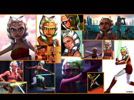 Ahsoka Tano 2.0 Wallpaper by Thimburd