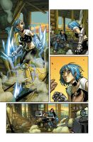 Xmen Divided we stand page 2 by CeeCeeLuvins