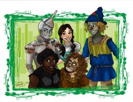 Pentatonix - The Wizard of Ahhhs by giadina96