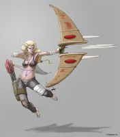 "Blood Elf ""Long Bow"" Concept by sanggene"