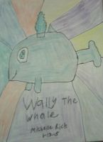 Wally the whale by littlesonic1234