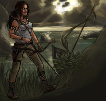 Let's play us some tomb raider. - No writing by YouAreReadingThis