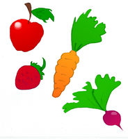 Fruits and Veggies by Midniteoil-Burning