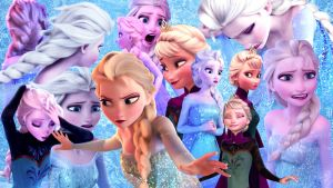 Elsa - Collage by Simmeh