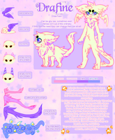 ((REDONE)) Drafine Reference  CLOSED!!!! by CHAlNSAW