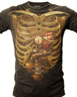 Steampunk Rib Cage Design by Hofarts