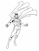 Superman Sketch by TCSmith