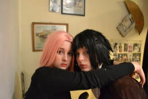 sasusaku cosplay halloween 6 by narutine
