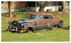 An Old Rusty Chevy by TheMan268