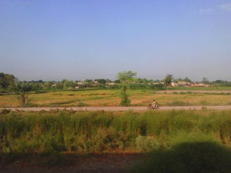 A View from Train Window - 4 by m33mt33n