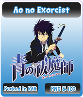 Ao no Exorcist - Anime Icon by Rizmannf