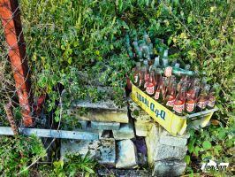 Forgotten bottles by IvaSan