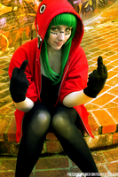 BritishGentleLady as Matryoshka Gumi by FreedomDrawer