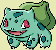Bulbasaur! by ashlin422